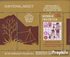 Indonesia block41 (complete.issue.) unmounted mint / never hinged 1981 Jamboree