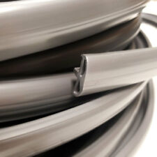 10 METRE SILVER CAMPERVAN TABLE TRIM KNOCK ON EDGING FOR 15MM FURNITURE BOARD
