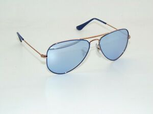 Ray Ban Jr. Aviator RJ 9506S 264/1U Blue/Copper Mirror Kids 52mm Sunglasses