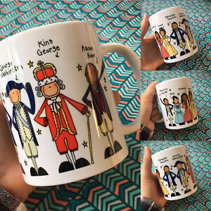 Hamilton Musical Mug. Cast Group, 11oz Mug with gift box. by Blackshoe