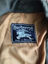 "Mens Vintage Burberry Trench Coat Mac Jacket 50""pit To Pit"