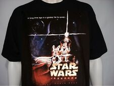 NEW Walt Disney World Star Wars Weekends 2004 Leia Luk T-Shirt Mens Size: SMALL