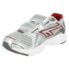 Casual Trainers Silver Synthetic Shoes for Boys