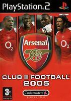 Arsenal Club Football 2005 PS2 (PlayStation2) - Free Postage - UK Seller
