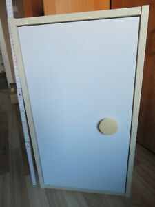 Badschrank Hängeschrank 62x35x19cm 2 Einlegeböden höhenverstellbar Magnetverschl