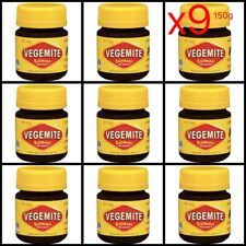 Vegemite 150g Jar x 9 Bulk | Brand New & Sealed | Australia Aussie Food Spread