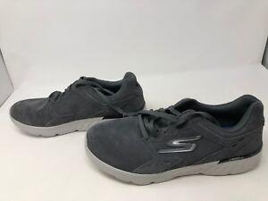 Men's Skechers GORUN 400 SWIFT Gray Shoes        412J