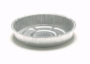 "5"" Lanced Flan Case Foil pie tray oven baking aluminium pot 100 per pack"