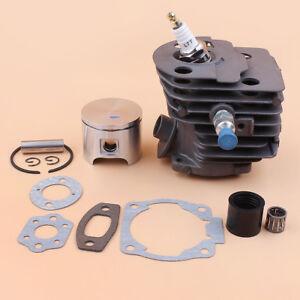 Cylinder Piston Kit w/ Intake for Husqvarna 50, 51, 55, 55 Rancher Nikasil 46mm
