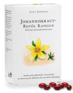 120 Johanniskraut - Rotöl Kapseln von Sanct Bernhard (1 Schachtel)