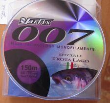 MONO-FILAMENT PINNE 007 SPÉCIAL TRUITE LAC 0,25 mm150 mt 7,85 kg testé