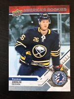 Rasmus Dahlin 2018-19 Upper Deck America's Rookies National Hockey Card Day #1