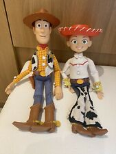 Toy Story Pullstring Talking Woody And Jessie Dolls