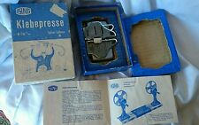 splicer colleuse 8/16m/m KLEBEPRESSE --ISING IN BOX VINTAGE EXCELLENT CONDITION