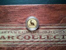 ▄▀▄ 5$ Lunar I Goldmünze 1/20 OZ Hase Rabbit 1999 Lunar 1, selten u. beliebt ▄▀▄