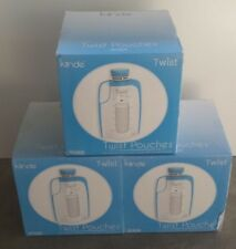Kinde Lot of 3 Twist Pouches Pre Sterilized Direct Pump Breast Milk Storage