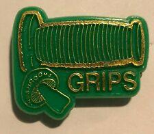 1980's BMX Mushroom Grips Plastic Advertising Badge Original 1980's