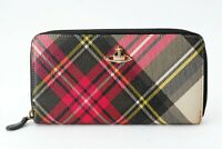Vivienne Westwood Long Wallet Round Zipper Type, Pink Base from Japan
