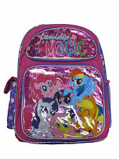 "F16ML29129 My Little Pony Large Backpack 16"" x 12"""