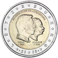 Luxemburg 2 Euro 2005 Großherzog Henri und Adolphe prägefrisch