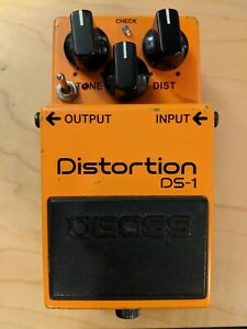 Boss DS-1 (DS1) Distortion Guitar Pedal with Keeley Ultra & All seeing Eye Mods