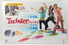 Twister Moves Game With Jesse McCartney 3 Music CDs Kids Dance Board New In Box
