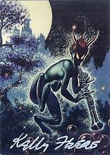 KELLY FREAS TRADING CARD #39 PAN SIGNED