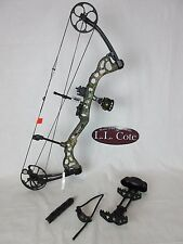 Bear Attitude Compound Bow Left Hand 70# Xtra Green Camo RTH Package
