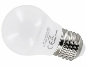 LED Mini Globe Bulb G45 E27 6W=40W 475lm 200° Flicker-Free - Daylight White
