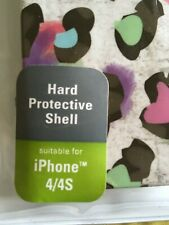 HARD COVER / SHELL iPHONE 4 , 4S.  NEW IN BOX    IPHONE