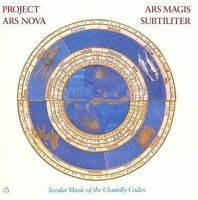 NEW Ars Magis Subtiliter: Secular Music of the Chantilly Codex (Audio CD)