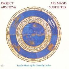 Ensemble P.A.N. (Project Ars Nova) : Ars Magis Subtiliter: Secular Music of t CD