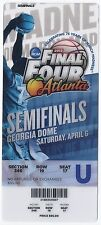 2013 Final Four Semi Finals Full Unused Ticket Wichita State Syracuse