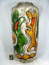 "Scheurich Keramik Fat Lava Vase "" psychodelic""  crusty glaze 517-50   Variante 1"