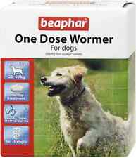 Beaphar One Dose Wormer Tablet Worming for Large Dogs Dewomer Upto 40kg