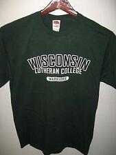 Wisconsin Lutheran College Tee - Warriors Milwaukee USA Sports School T Shirt M