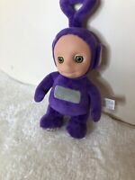 "TELETUBBIES TINKY WINKY Talking Soft Plush Toy Purple Approx 11 "" Tall"