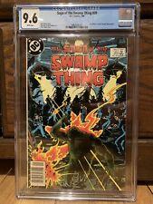 SAGA OF THE SWAMP THING #20 (Alan Moore's run begins) CGC 9.6 NM+ DC Comics 1984