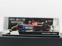 Minichamps Tyrrell 012 Yardley 1984 Moaco GP Practice Stefan Bellof 1:43 Limited