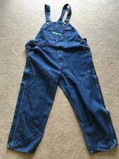 KEY OVERALLS Denim Jean Bibs Farm Wear 46X30