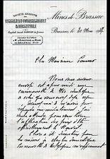 """HOUILLERE de BRASSAC (63) BOULETS & CHARBON """"MINES de BRASSAC"""" en 1937"""