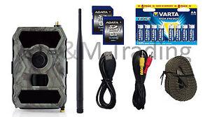 X-view Wildkamera MMS-GPRS-MAIL | Full HD I 12MP I IR 940nm black LEDs I OVP