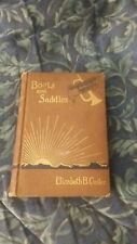 BOOTS and SADDLES by ELIZABETH B CUSTER 1st Edition 1st Print HC, portrait & map