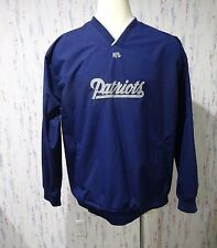 New England Patriots NFL Team Apparel Pullover Windbreaker Jacket Mens Size XL