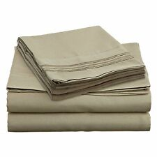 1700 SERIES DEEP POCKET 4 PIECE BED SHEET SET - 19 COLORS AVAILABLE IN ALL SIZES