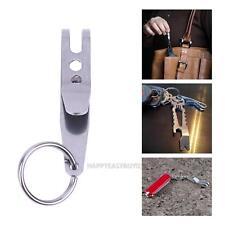 Mini Edc Gear Pocket Suspension Clip Hanger Tool w/ Key Ring Keychain Keyfob 4g