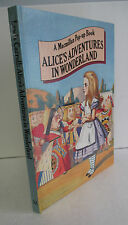 ALICE'S ADVENTURES IN WONDERLAND, Macmillan Pop-Up Book, 1980