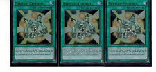 YUGIOH Duellante SAGA - 3 x nekroid-synchro dusa-de015, ultra rare, MINT,Playset