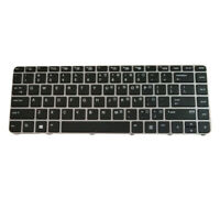 Replacement Black US Layout Laptop Keyboard Fit  for EliteBook 840 G3 836308-001