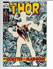 Thor #169 Origin of Galactus (1969)